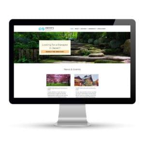 Preview of imhpj.org a website designed and developed by Marci Kobayashi | visit marcikobayashi.com