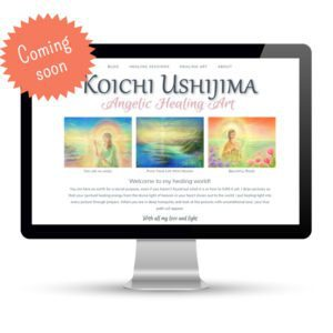 Preview of koichiushijima.com, a website designed and developed by Marci Kobayashi | visit marcikobayashi.com