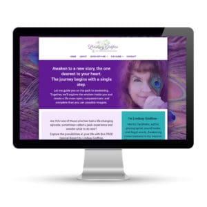 Preview of lindsaygodfree.com, a website designed and developed by Marci Kobayashi | visit marcikobayashi.com