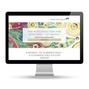 Preview of michellesmithmufarreh.com, a website designed and developed by Marci Kobayashi | visit marcikobayashi.com