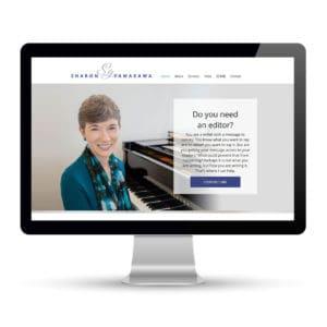 Preview of sharonyamakawa.com, a website designed and developed by Marci Kobayashi | visit marcikobayashi.com