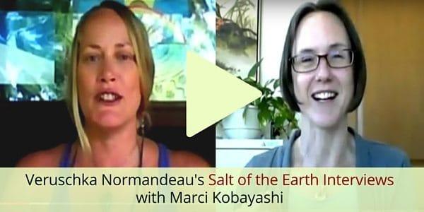 Veruschka Normandeau's Salt of the Interviews with Marci Kobayashi at marcikobayashi.com